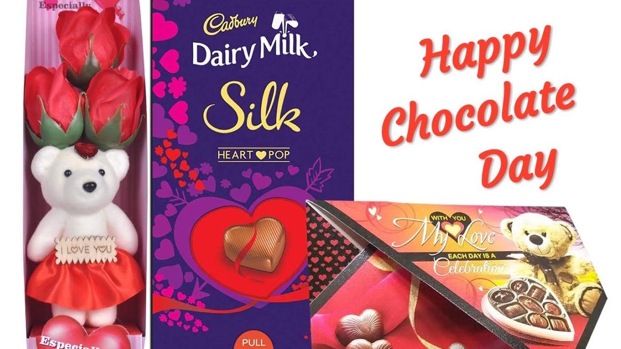 Happy Chocolate Day 2020 Chocolate Day Whatsapp Status Chocolate Day Sayari Youtube Choklet dairy milk happy chocolate day