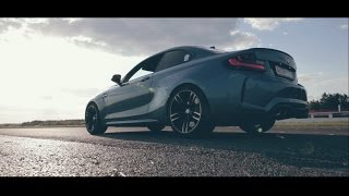 BMW M2 action video – drift, drag and rock n roll!)
