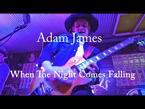 Adam James performs When The Night Comes Falling