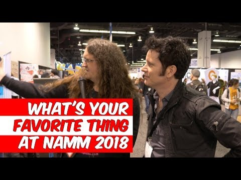 What's your favorite thing at NAMM 2018? & Giveaway! - Warren Huart: Produce Like A Pro