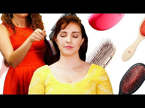 50 Minutes of No Talking Hair Brushing, Hair Play and Head Massage Sounds ASMR