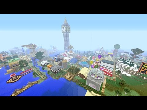 Stampy's Top 10 Buildings In His Lovely World