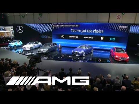 EXCLUSIVE: Mercedes-AMG Premieres New 4-Door Mercedes-AMG Sports Car!