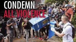 Mainstream media ignores Antifa violence in Charlottesville