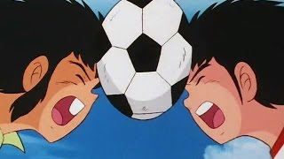 Video Captain Tsubasa Vs Tachibana twins Skylab Hurricane download MP3, 3GP, MP4, WEBM, AVI, FLV Agustus 2017