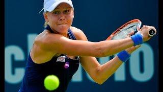 2016 Connecticut Open Quarterfinals   Johanna Larsson vs Roberta Vinci   WTA Highlights