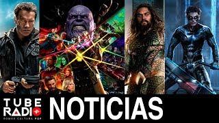 Tube Radio: Vengadores Infinity War, Terminator 6, Aquaman, James Bond 25, Nightwing, Jurassic World