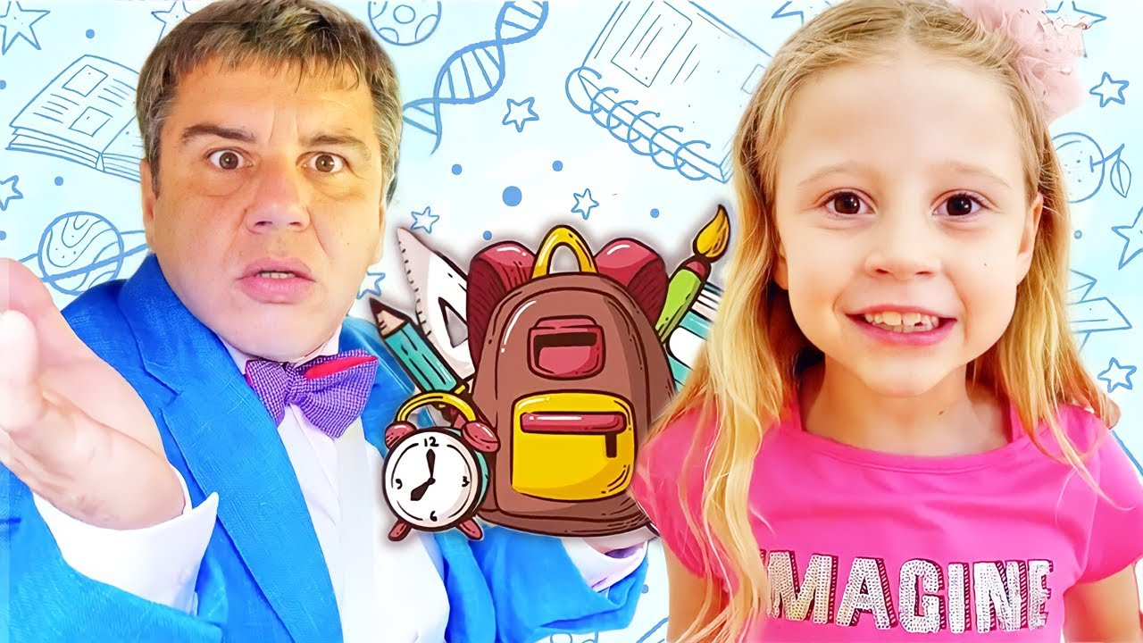 ناستيا وبابا وتجميع مجموعة مقاطع الفيديو الأكثر تسلية للأطفال