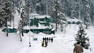 Gulmarg, Kashmir in Winter 2012.