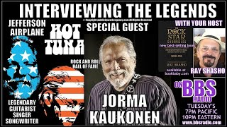 Jorma Kaukonen Legendary Guitarist w/The Airplane & Hot Tuna