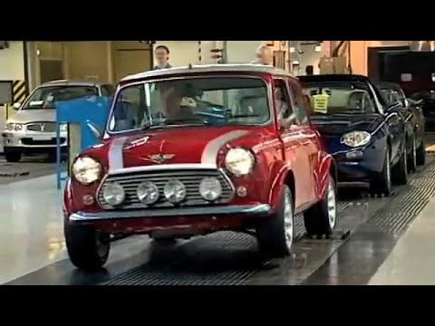 AustinRover Mini Cooper Manufacture, Longbridge