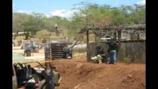 KWA/Power Edge Show & Airsoft Game At Hawaii Extreme Paintball & Airsoft Park - Part ONE