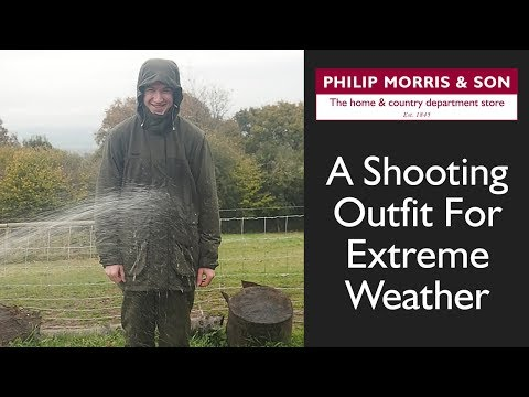 A Shooting Outfit For Extreme Weather - Musto Highland Range