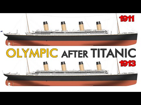 What happened to OLYMPIC after TITANIC sank?