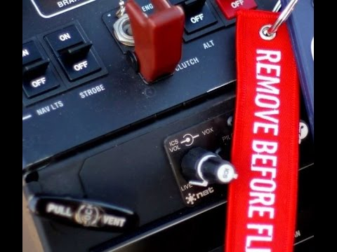 Why do planes have REMOVE BEFORE FLIGHT? - YouTube