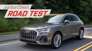 The 2019 Audi Q3 is Bigger, but is it Better? | MotorWeek Road Test