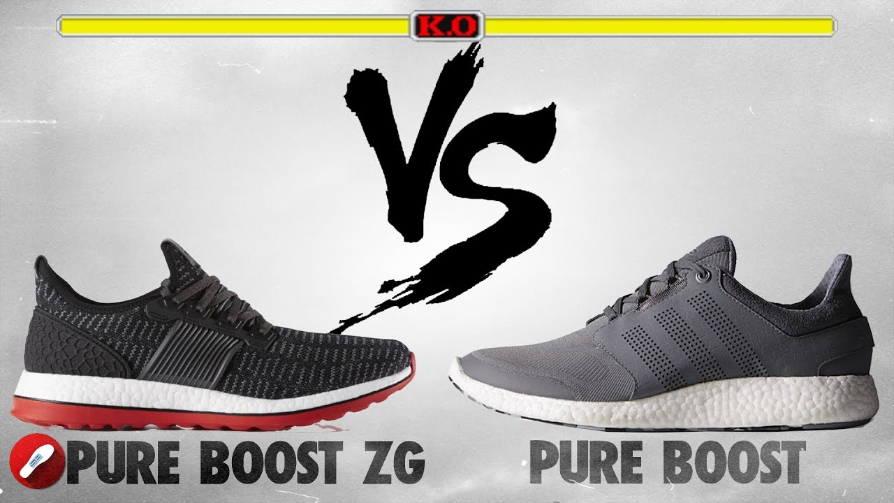 watch 4768d 9a138 Adidas Pure Boost ZG vs Pure Boost!