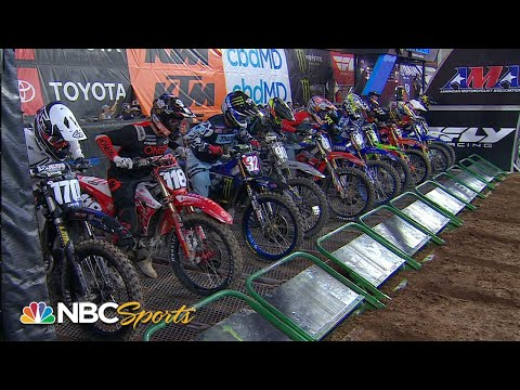 Supercross Round #4 in Glendale   250SX EXTENDED HIGHLIGHTS   Motorsports on NBC