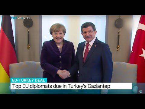 Top EU diplomats due in Turkey's Gaziantep