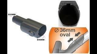 Electorlux ZE050 - Распаковка и обзор переходника для пылесоса с овальной трубы на круглую