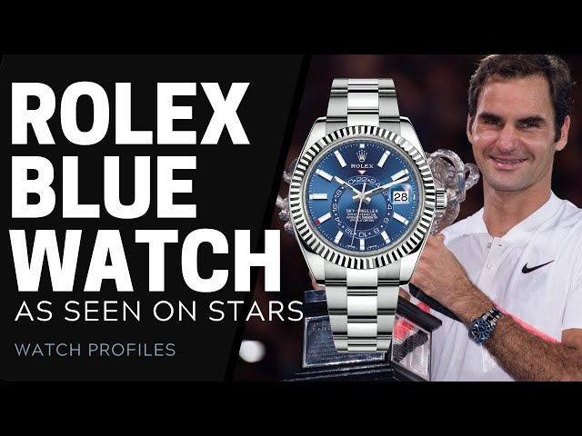 Rolex Blue Watches, As Seen on Stars   SwissWatchExpo