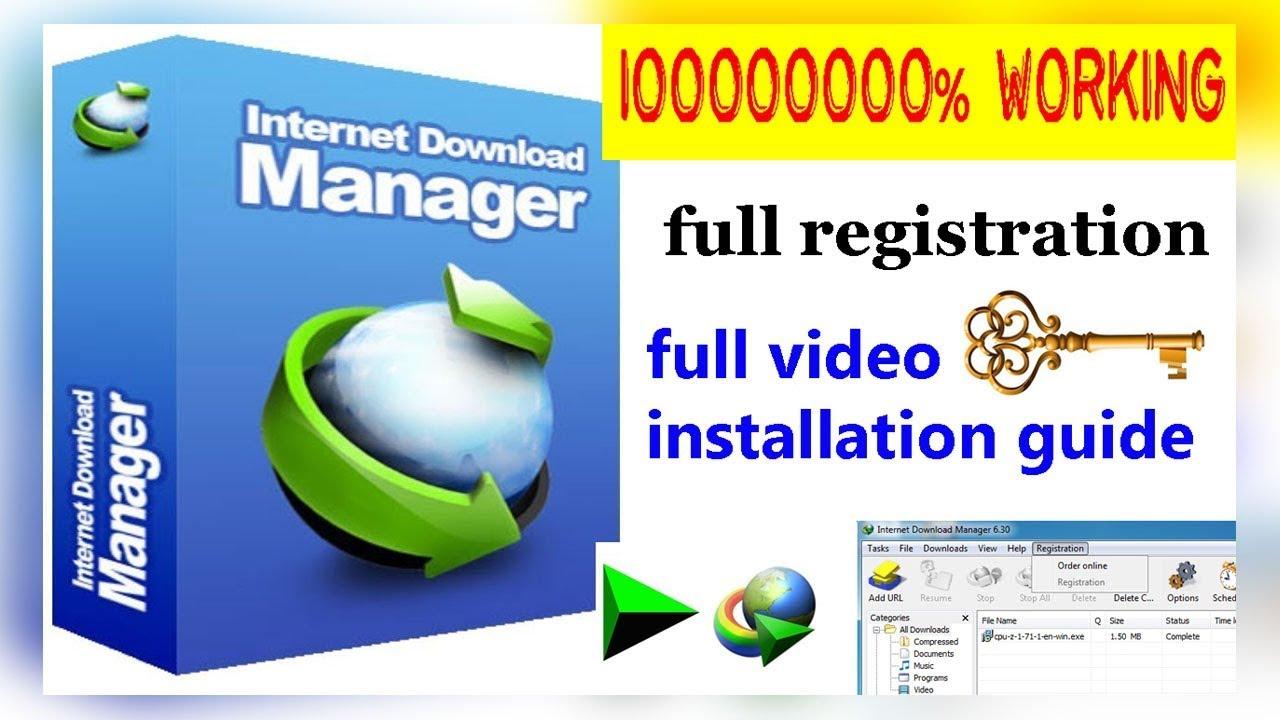 download internet download manager with keygen