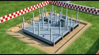Строительство жилого дома 3D видео(Данный видеоролик выполнялся в качестве дипломной работы в 2011 г. в программе 3dsMax. Если Вы заинтересованы..., 2011-11-17T17:27:43.000Z)
