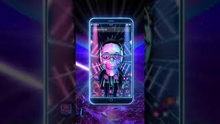 Download 3D DJ Skull & Rock Music Theme