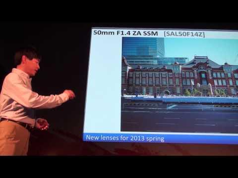 Sony Master Lens Designer Speech