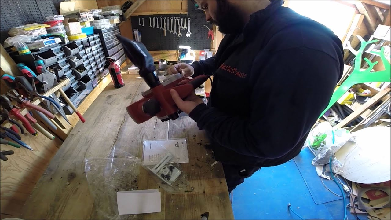 unboxing and testing einhell rt-pl 82 850watt