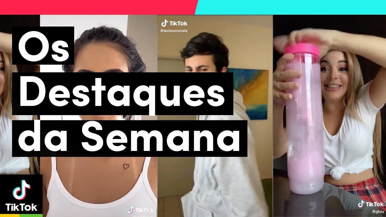 Os que mais se destacaram nesta semana no TikTok Brasil