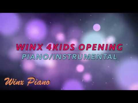 Winx Club - Opening 4KIDS Fanmade - Piano/Instrumental - HD