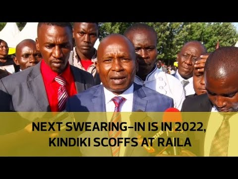 Next swearing-in is in 2022, Kindiki scoffs at Raila