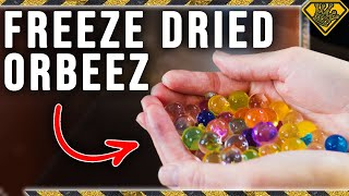 Sucking Water Out of Orbeez