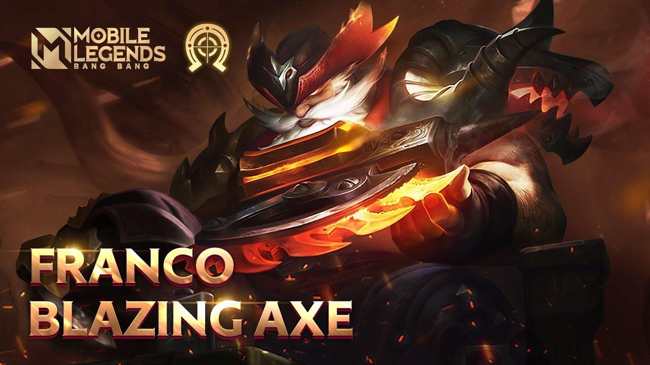 FRANCO New Blazing Bounties Skin | Blazing Axe | Mobile Legends: Bang Bang