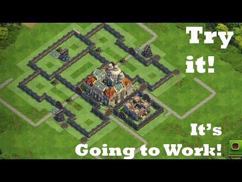 Enlightenment Age War Base / Try it - War DomiNation Base Creation 2