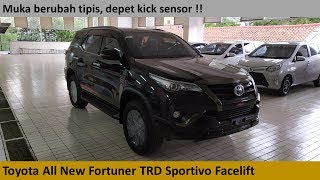 Toyota Fortuner TRD Sportivo Diesel Facelift review - Indonesia
