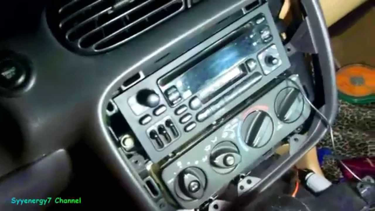 1999 Chrysler Sebring Remove Hvac Control Module Youtube Wiring Diagram For Plymouth Breeze