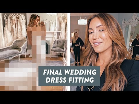 PIA'S FINAL WEDDING DRESS FITTING AND WEDDING DANCE CLASSES