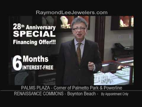 Finance Jewelry - Raymond Lee Jewelers Special Financing Offer