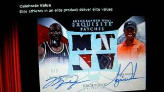 BIG NEWS! 1 Full Case EXquisite 2009/10 Basketball Group Break Sign Up Must Watch! Pre-sale PRICE!