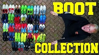 My football boot collection 2017