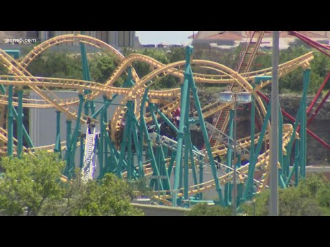 20 Six Flags Fiesta Texas visitors rescued from stalled rollercoaster