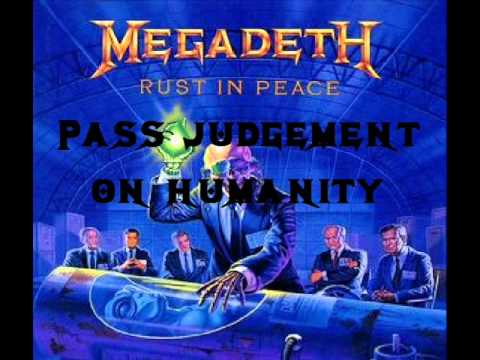 Megadeth - Rust in Peace... Polaris (lyrics)