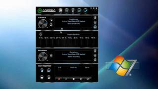 andrea electronics audiocommander usb audio software setup instruction guide for pc