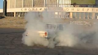 Волга VOLGA V8 burnout отжиг