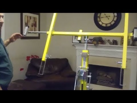 How To Install And Use Drywall Lift Step By Step For Dummy Youtube