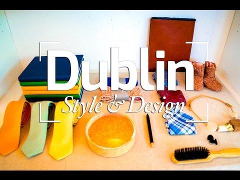 DUBLIN STYLE & DESIGN - IRELAND TRAVEL VLOG #9