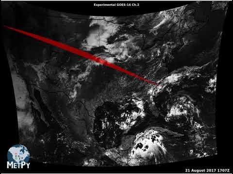 MetPy Monday #9 - 2017 Total Solar Eclipse : Unidata