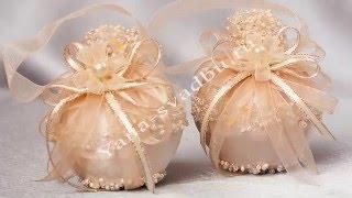 Бонбоньерки, таросики, свадебные бокалы, свадебные аксессуары, свадебные корзины, www.tarosikner.ru